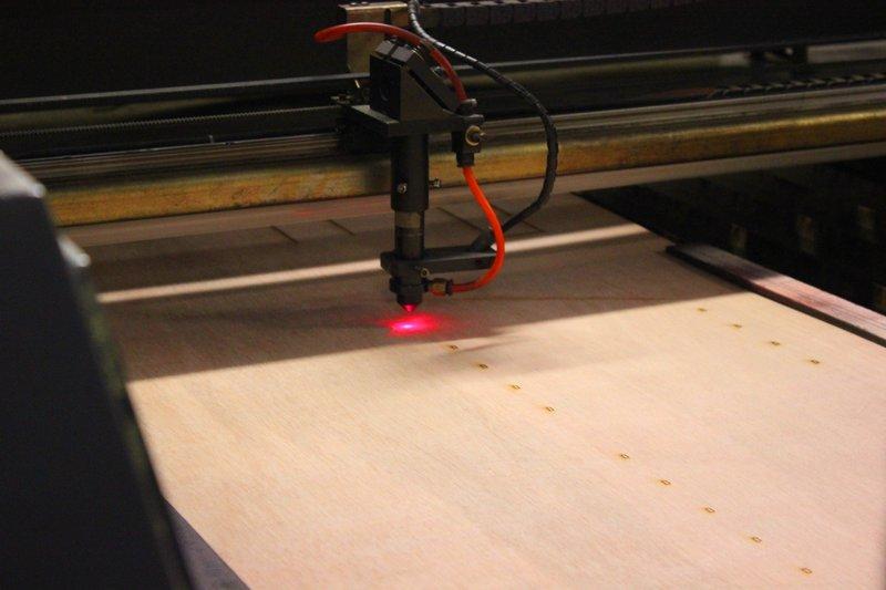 Premiers pas sur la découpe laser – mars