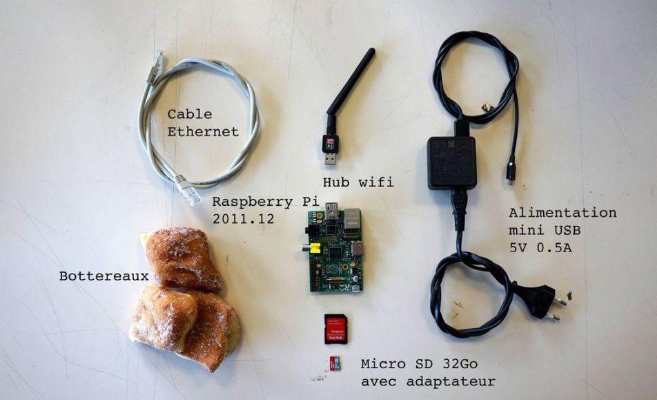 Atelier Court-circuits – décembre : Raspberry Pi