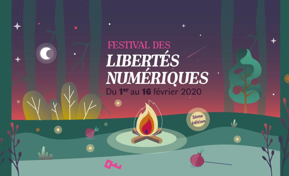 Festival des libertés numériques, théâtre d'improvisation et débat